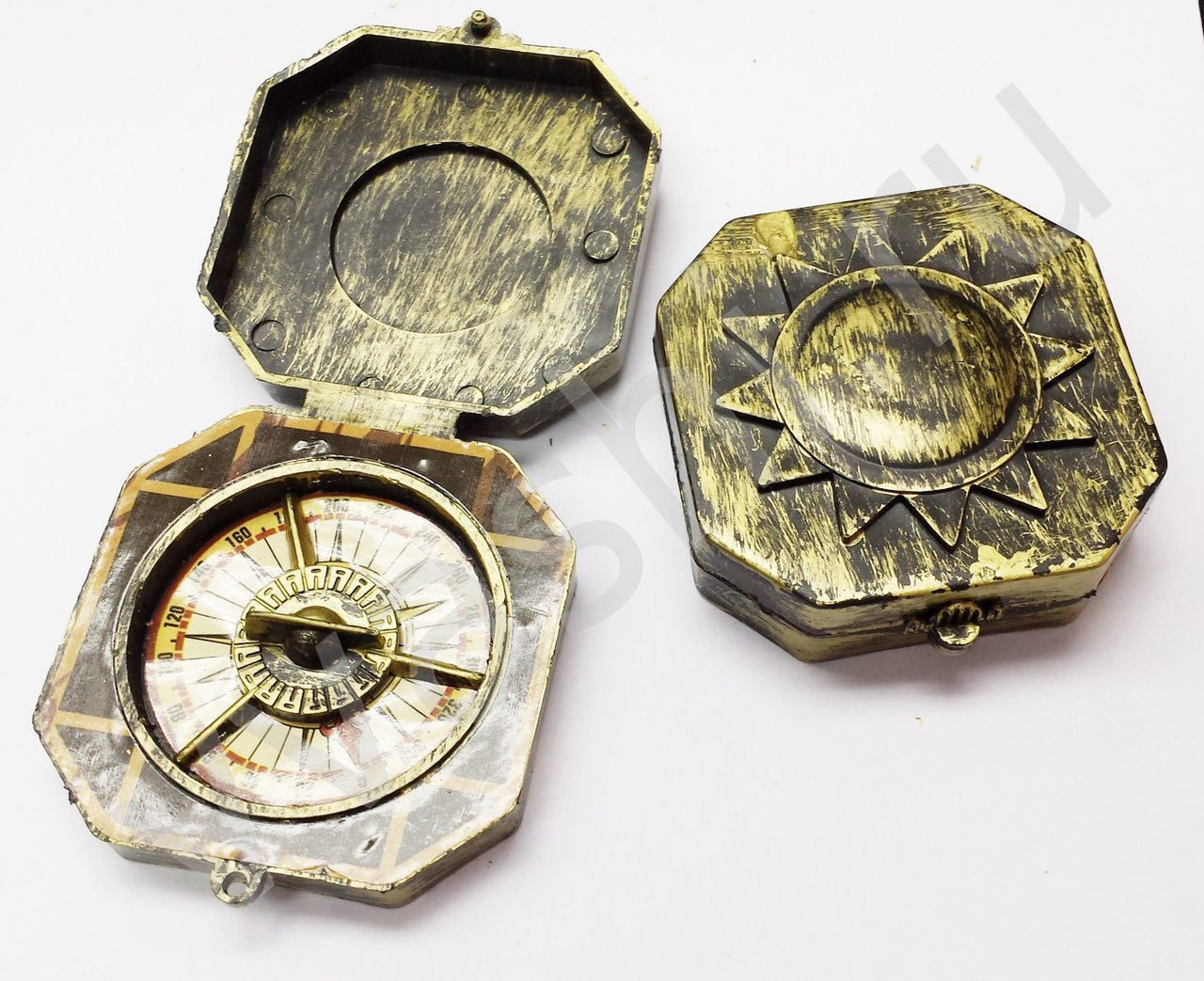 Как сделать компас джека воробья своими руками 56