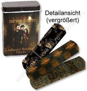 Twilight  New Moon  блок с пластырем