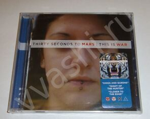 30 STM. 30 seconds to mars. Thirty seconds to mars. CD ДИСК. THIS IS WAR. 2009 ГОД. VIRGIN RECORDS. MADE IN USA.