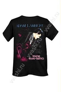 Футболка . Адам Ламберт.  Adam Lambert Glam-Tastic Slim-Fit. Официальный товар.